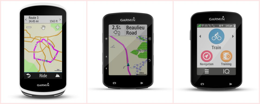 Garmin Edge multiscreen