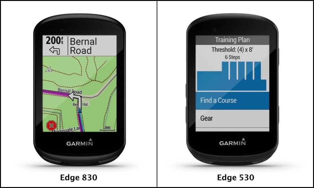 Garmin Edge 830/530