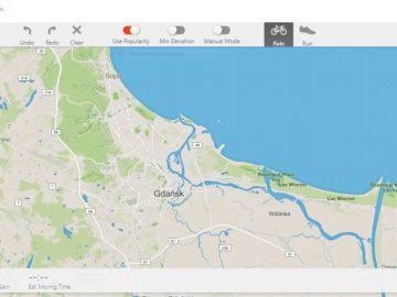 Tworzenie tras dla liczników Garmin w aplikacji Strava